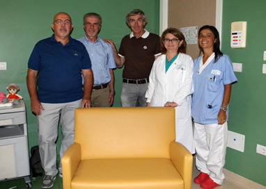 Un bel gesto di solidarietà per l'Oncoematologia pediatrica
