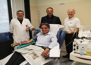 AVIS festeggia la 180ma donazione del prof. Giorgio Pagliari