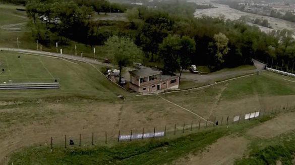 Lesignano, violento incidente sulla pista da motocross
