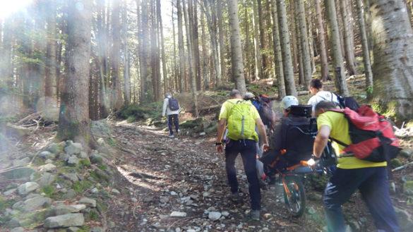 In vetta con la Joelette, la riabilitazione si fa anche in montagna