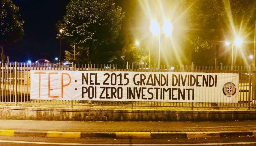"""CasaPound sulla Tep: """"Grandi dividendi, zero investimenti"""""""