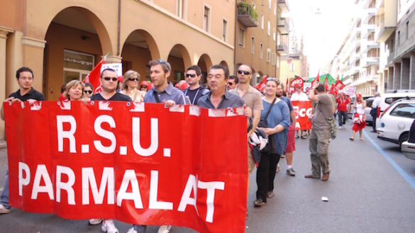 """CGIL Parma: """"Parmalat, un comportamento inaccettabile"""""""