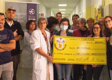 Beer'n Bike, donati 8mila euro alla Lega Italiana Fibrosi Cistica