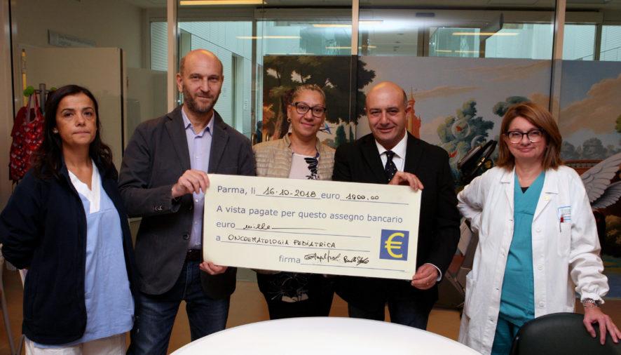 Ospedale dei bambini: donazione della Conad di largo Visconti
