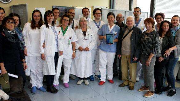 Verso il Sereno dà voce ai pazienti che non possono parlare grazie a un tablet