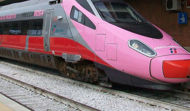Frecciarosa, la prevenzione viaggia in treno