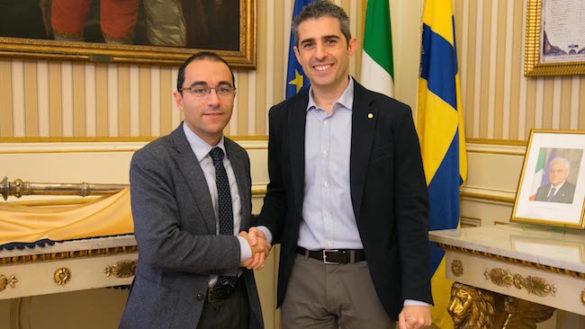 Incontro tra il Sindaco Pizzarotti e il Presidente della Provincia Diego Rossi