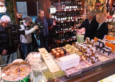 Parma in televisione! Una troupe di Marcopolo TV in città