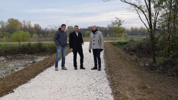 Sala Baganza, nuovo collegamento alla pista ciclabile del torrente