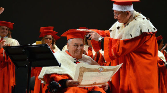 Bertolucci nell'olimpo dell'Università: la laurea ad honorem