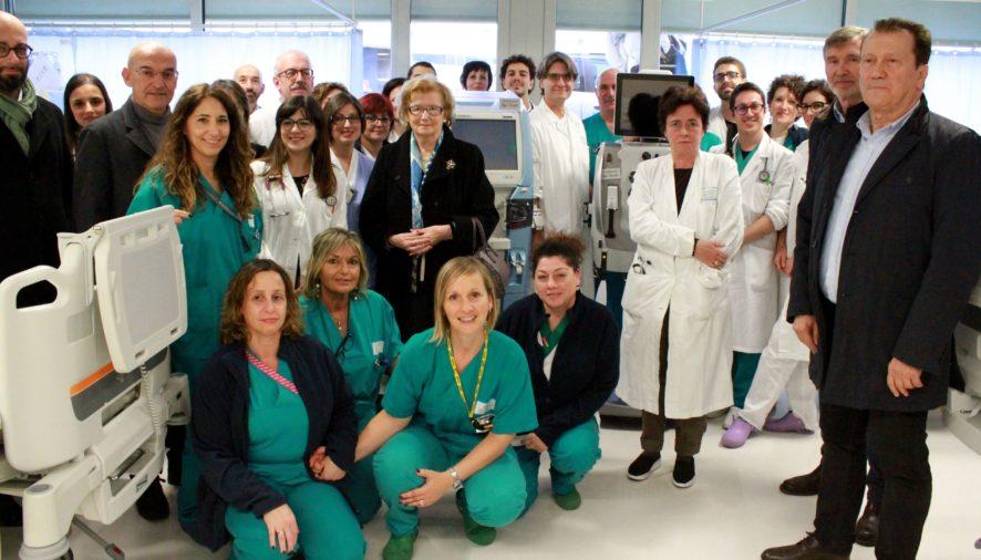 Donate sette apparecchiature di ultima generazione per la dialisi all'Ospedale