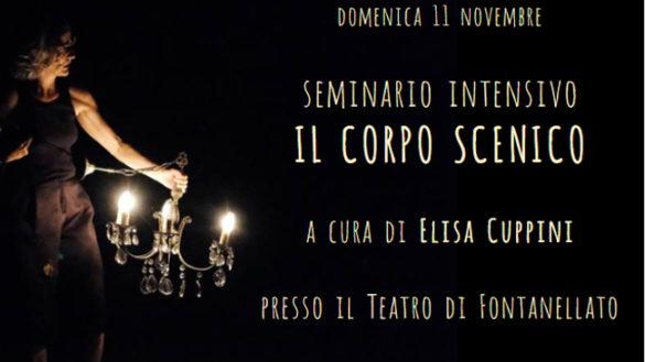 """""""Il corpo scenico"""", l'11 novembre al Teatro di Fontanellato"""
