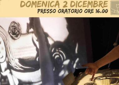 Sabbie narranti, la magia della sand artist Nadia Ischia in scena il 2 dicembre