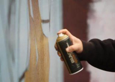 Colorno: sorpreso a dipingere un murales sulla piscina comunale