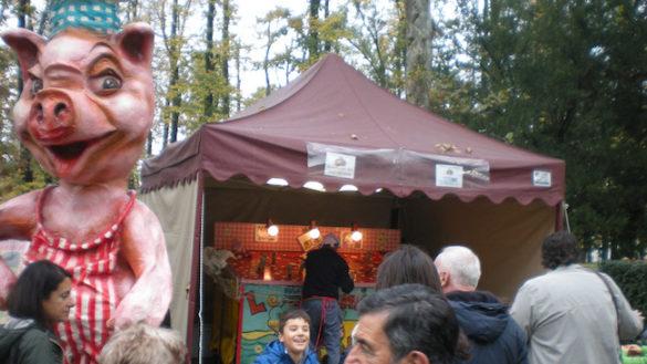 "A Polesine Parmense November Porc ""si rifugia"" in paese…"