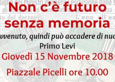 """""""Non c'è futuro senza memoria"""". Marcia per ricordare le leggi razziali"""