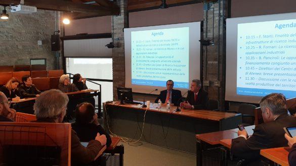 TACRI, tutto pronto per il Tavolo di Coordinamento della Ricerca Industriale dell'Ateneo