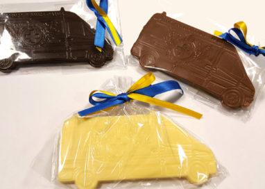 Le ambulanze di cioccolato della Pubblica
