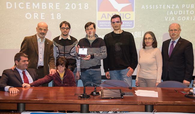 """Premio """"Anmic Parma 2018"""": in tanti ad applaudire Malangone e il Cai"""
