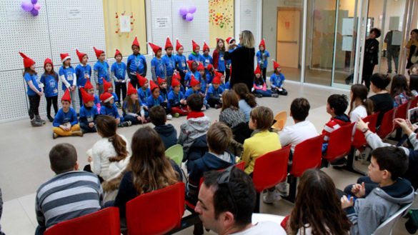 In Pediatria, i cori dei bambini…