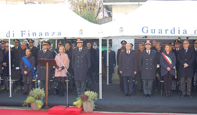 Nuova sede della Tenenza della Guardia di Finanza di Fornovo