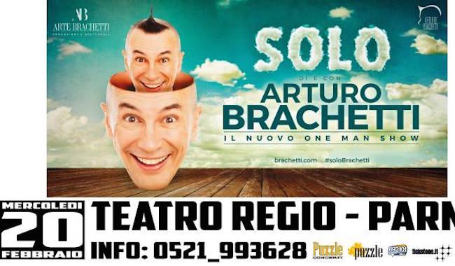 """Il mito di Arturo Brachetti al Regio con """"SOLO"""""""
