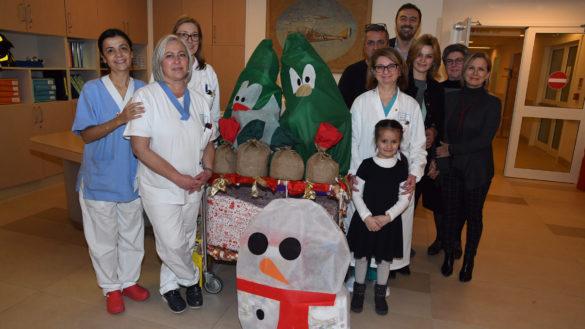 Il regalo di una mamma all'Oncoematologia pediatrica