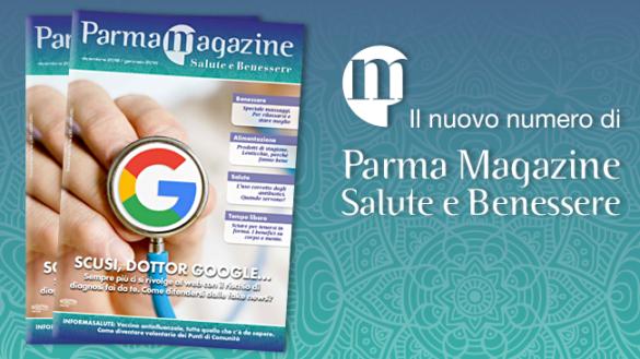 Parma Salute e Benessere Magazine è sfogliabile online ed è anche su Facebook…