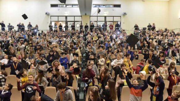 Lancio dei tocchi per oltre 330 giovanissimi Dottori Unijunior