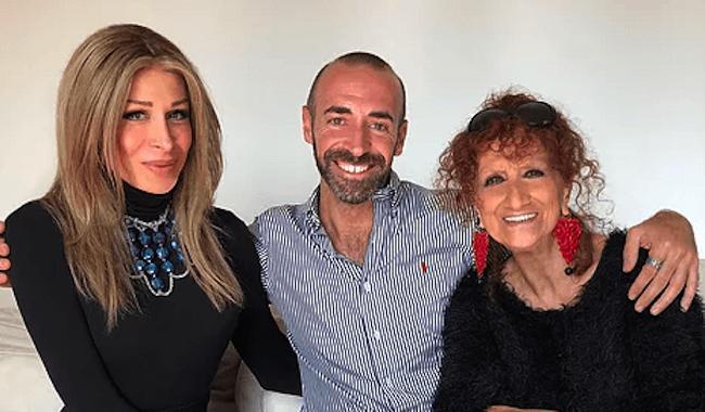 "Anna Mazzamauro e Cristina Bugatty in ""BELVEDERE - Due donne per aria"""