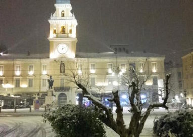 Prima neve in città: Parma imbiancata!