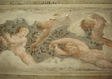 Palazzo Ducale: emergono affreschi nascosti nel sottotetto