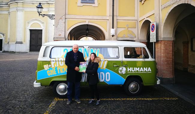 Il Comune di Soragna vince il premio HUMANA Eco-Solidarity Award