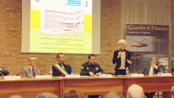 Sorbolo, consegnati i beni confiscati alla mafia. Presente Salvini