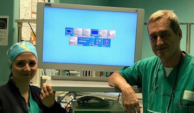 Ospedale di Vaio, nuova telecamera per gli interventi in laparoscopia