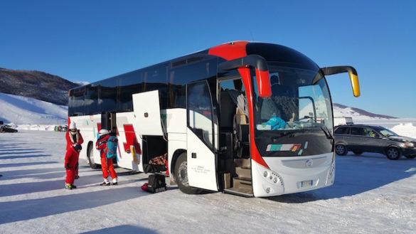 Sciare sulle piste del Cimone, in bus in meno di tre ore