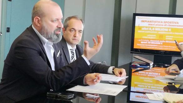 Sport, dalla Regione 1 milione e 172 mila euro per 6 progetti