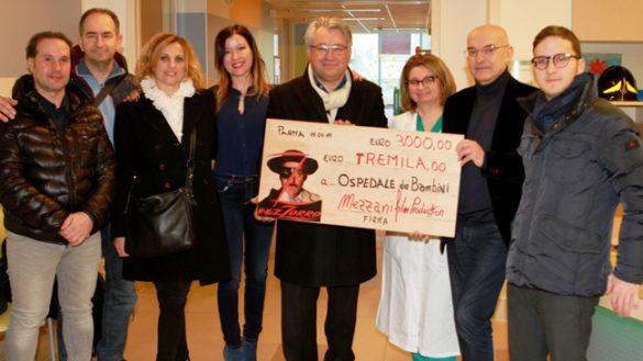 """Il film-parodia """"Mezzorro"""" regala l'incasso all'Ospedale deiBambini"""