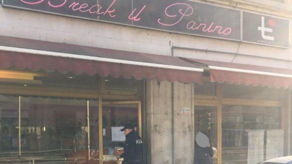 """Via Trento: sospeso per 15 giorni il bar """"Break il panino"""""""