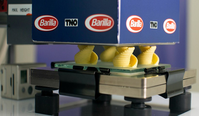 Barilla: basta un click…e arriva la pasta in 3D