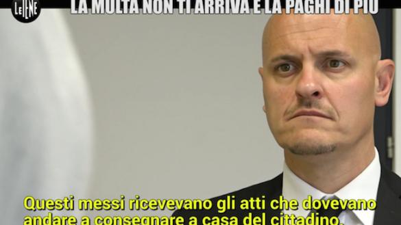 """""""La multa non ti arriva e la paghi di più"""". Le Iene a Parma"""