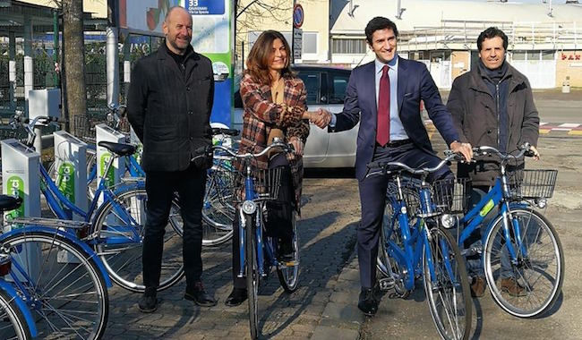 """Parma sempre più """"sostenibile"""": 7 nuovi posti di bike sharing"""