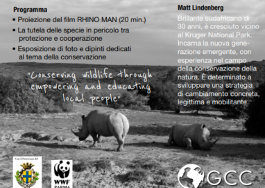 """""""Save the rhinos, save the planet"""""""