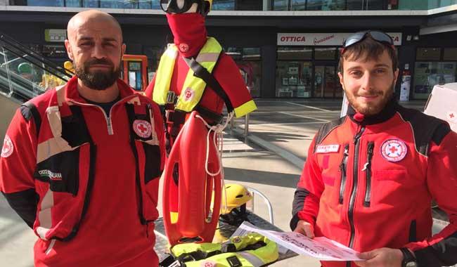 Domenica 24 febbraio, la Croce Rossa al Parma Retail e all'Eurosia