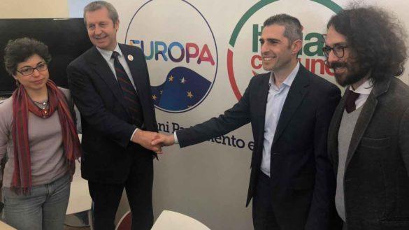 Europee: Italia in Comune di Pizzarotti si allea con +Europa