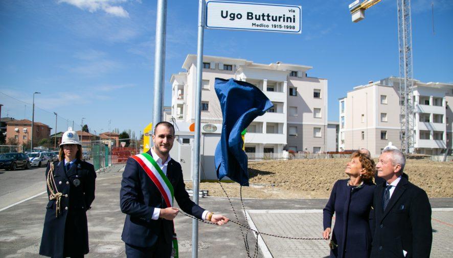 Intitolazione alla memoria di Ugo Buttarini