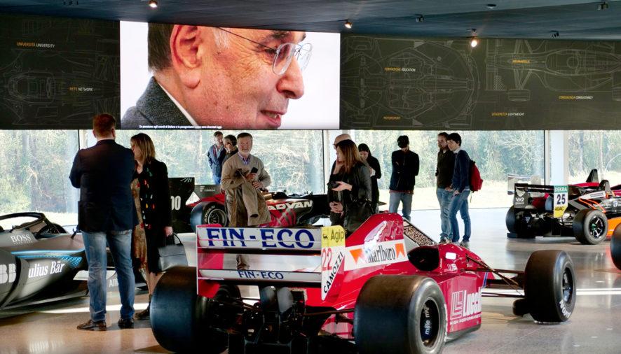 Confesercenti Parma in visita alla Dallara Academy
