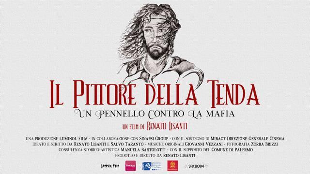 """""""Il Pittore della Tenda"""": il Comune di Langhirano promuove  la proiezione del film sulla vita di Modica, il pittore antimafia"""