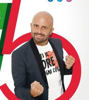3 aprile 2019: Luca Abete con #NonCiFermaNessuno fa tappa all'Università di Parma