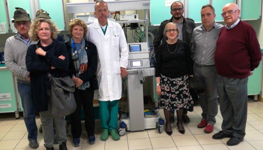 Ospedale di Vaio, un nuovo strumento per il trattamento mininvasivo dei tumori gastrointestinali